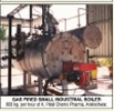 GAS FIRED SMALL INDUSTRIAL BOILER